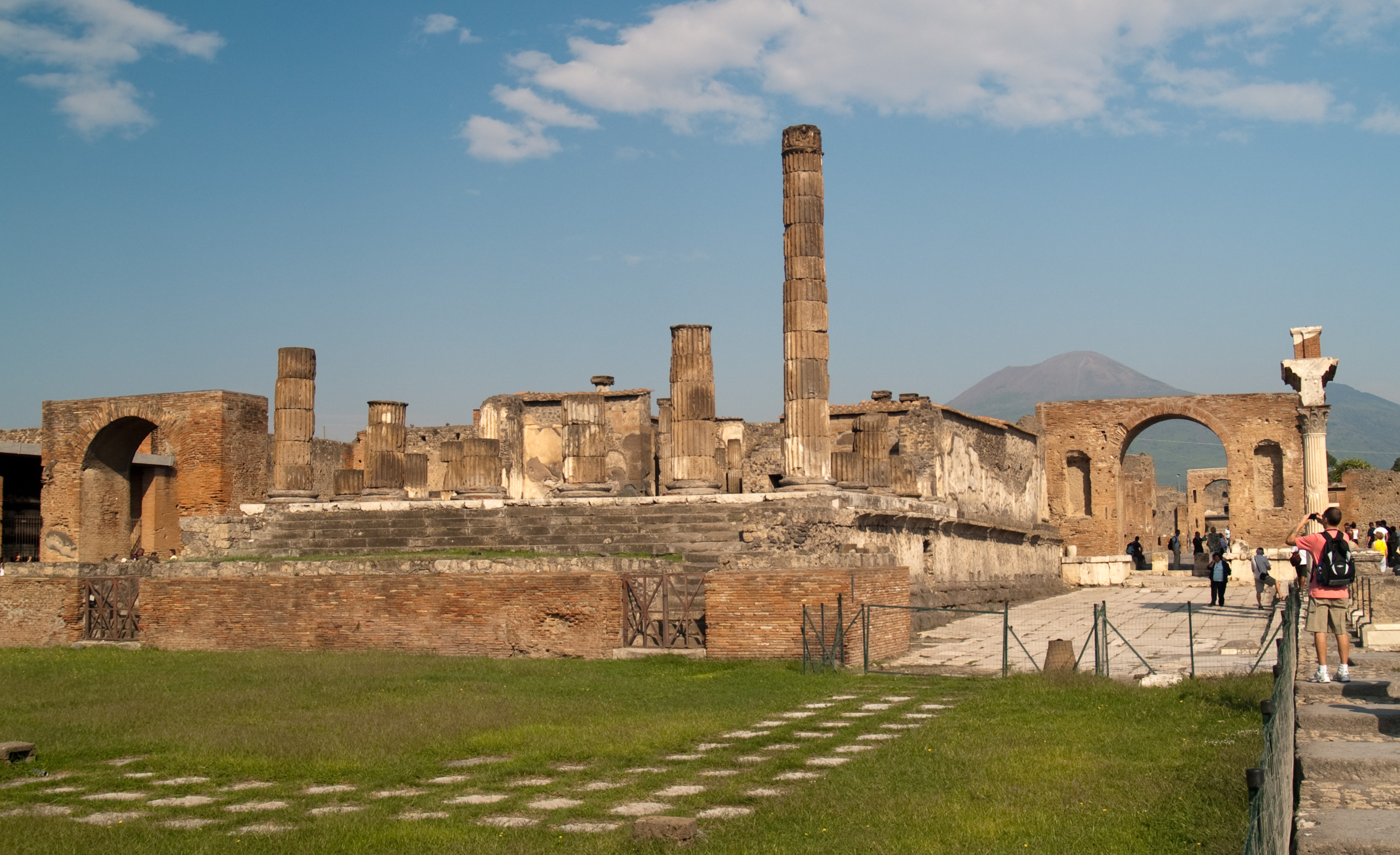 an analysis of the forum in the temple of jupiter